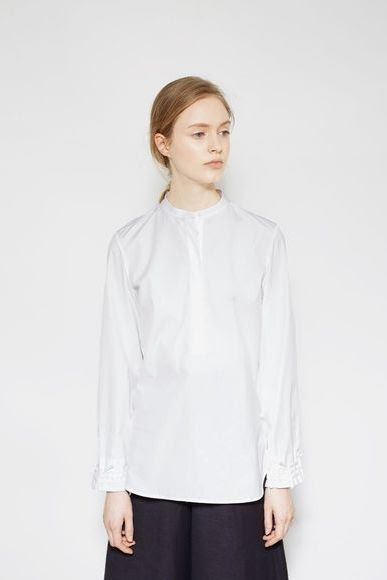 3.1 Phillip Lim Gathered Cuff Blouse