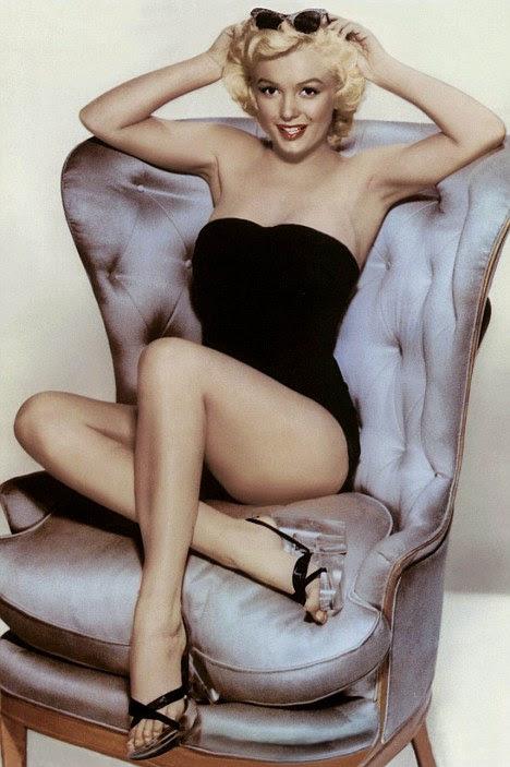 Egocêntrica: Monroe usou a gemer constantemente sobre ser sa estrela, mas foi ferozmente ambicioso em sua busca de fama e até mesmo despejados seu primeiro marido para continuar a sua carreira