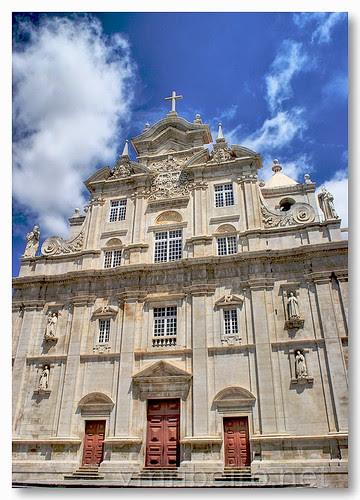 Fachada da Sé Nova em Coimbra by VRfoto
