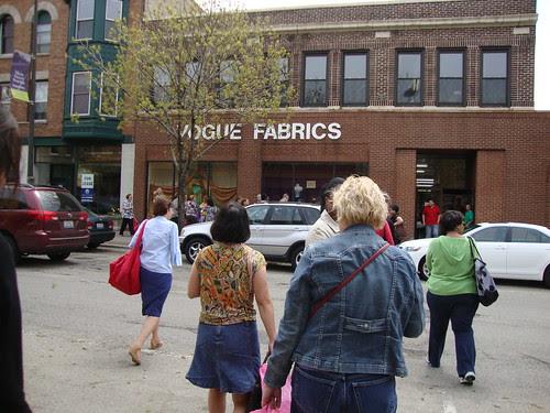 Vogue Fabrics flagship store in Evanston, IL
