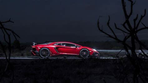 Wallpapers: one night in Lambo?s 740bhp Aventador SV   Top Gear