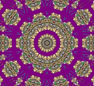 Rare Rich Royalty_purple K-scope