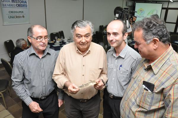 José Zilmar, Dalton Melo, Marcone Mafezzolli e Júlio César Andrade