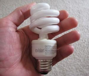 Como funcionam as lampadas Fluorescentes Compactas?