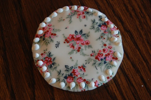 Ladies' Night Cookies in White Chocolate Floral