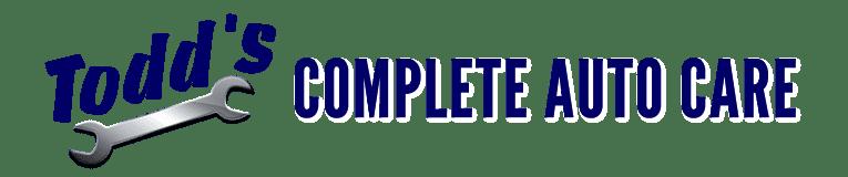 Todd's Complete Auto Care logo