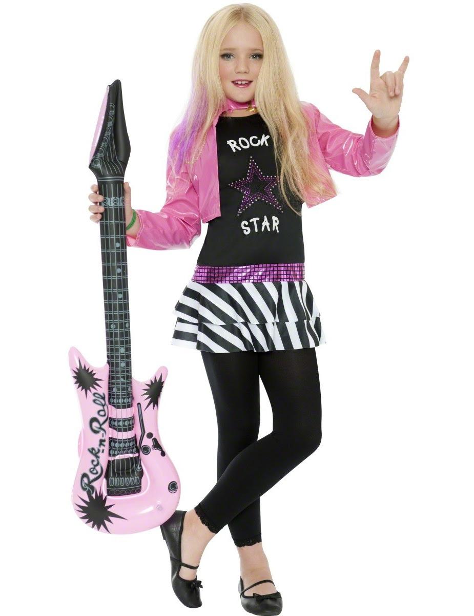 rock star costume for girls