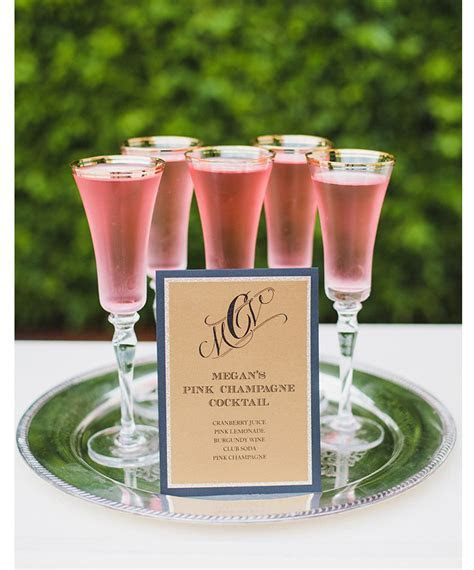 100 Signature Drinks   Mon Cheri Bridals