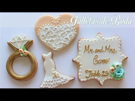 Galletas Para Boda   YouTube