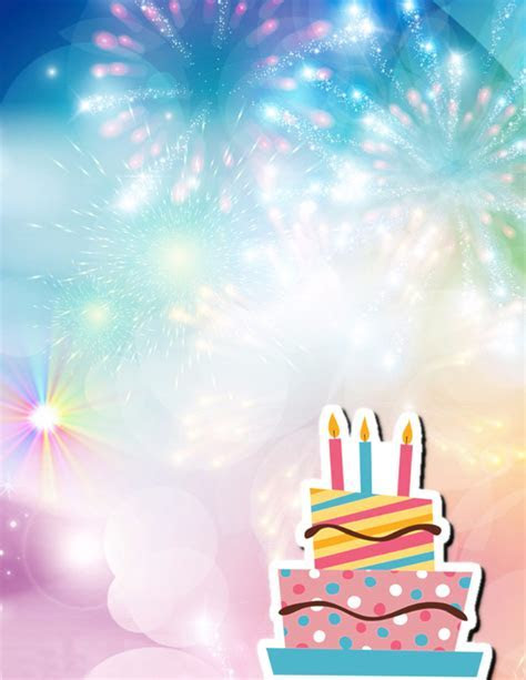 Birthday Party Poster Background, Birthday, Party
