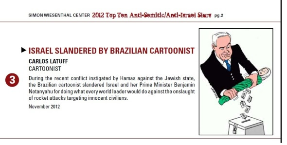 Simon Wiesenthal Center report December 2012