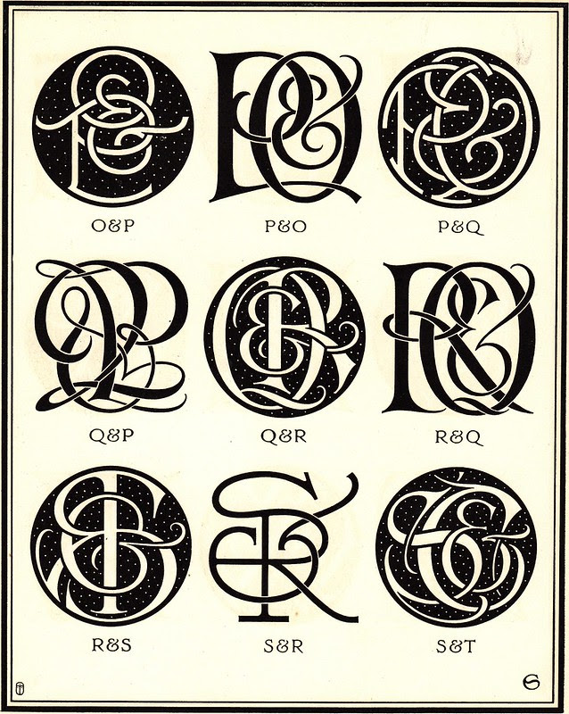 Monograms & Ciphers by AA Turbayne 1912 m