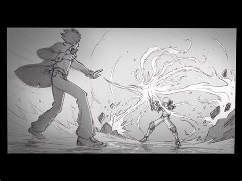 draw fight scenes doovi