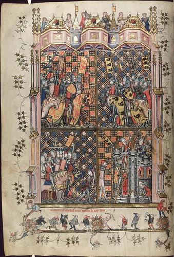 The Romance of Alexander 51v MS. Bodl. 264
