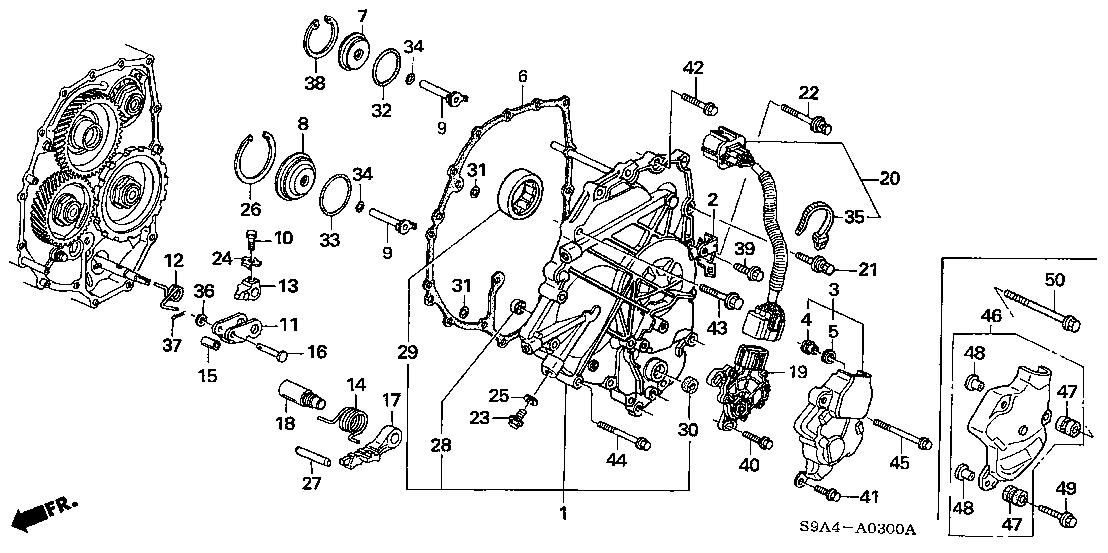 2002 Honda Crv Parts Diagram