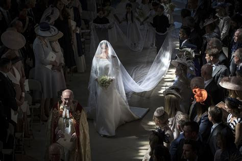 Meghan Markle stuns in her Givenchy wedding dress