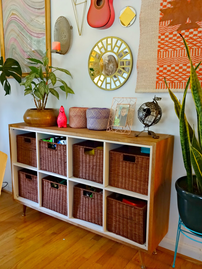 How We Blend Toy Storage With Our Decor A Designer At Home