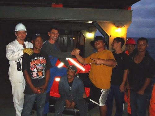 12 survivors and crew 2000 LT