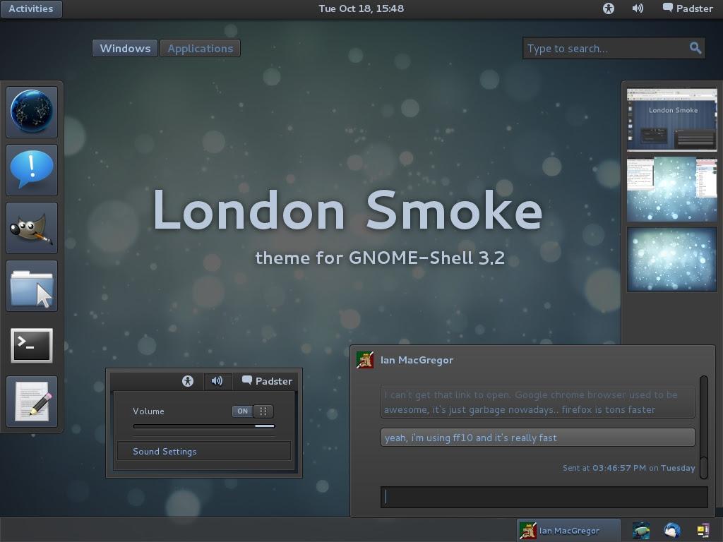 Ubuntu Oneiric Gnome Shell