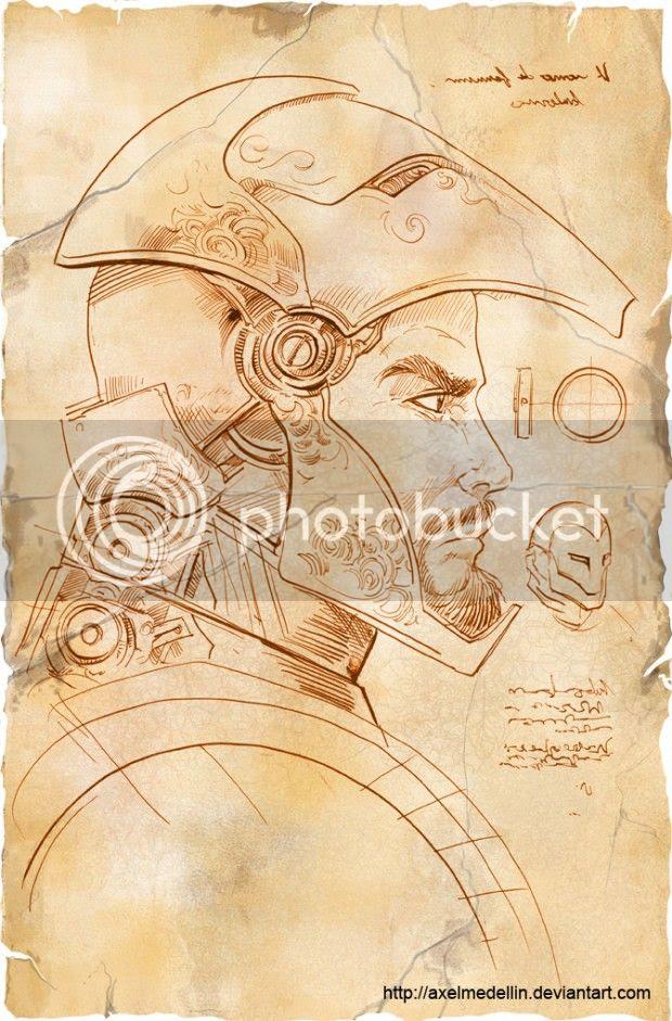 Iron Man S Armor Designed Leonardo Da Vinci Style