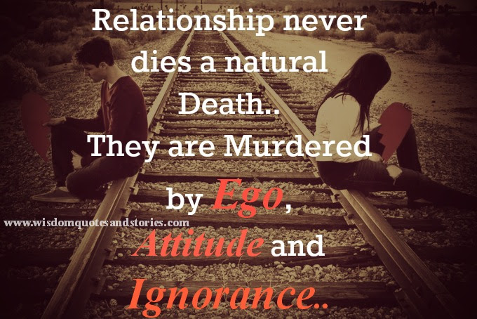 Relationships Never Dies Wisdom Quotes Stories