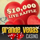Grande Vegas Casino Players Get Free Tickets Live Raffle