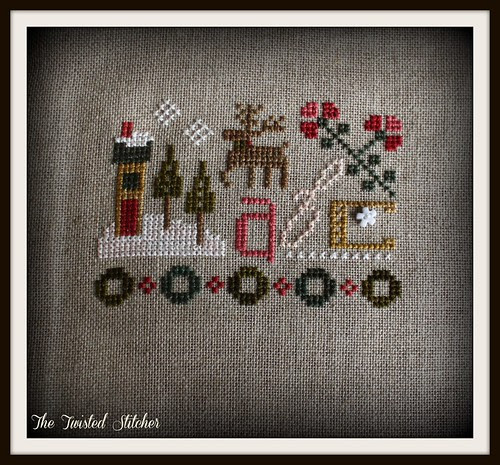 Joy to the World box top bonus pattern by Lizzie Kate