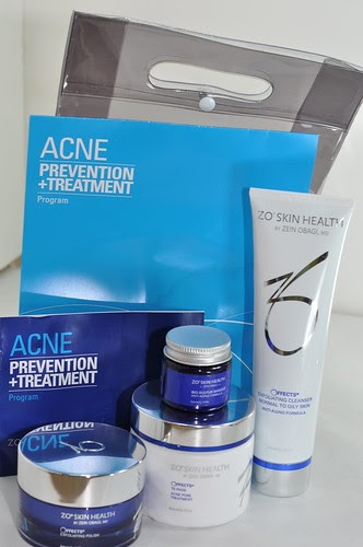 zo skin health by zein obagi  md acne prevention and treatment system review