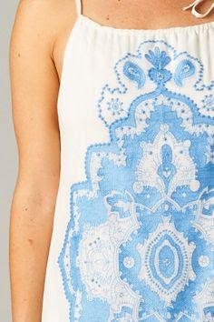 beautiful blue details
