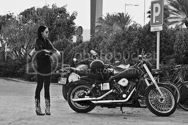 Rider Girl in Barcelona