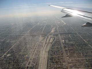 City of freeways, traffic, and smog