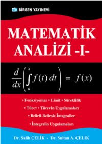 Matematik Analiz 1.cilt, 610 sayfa, Birsen yayınevi