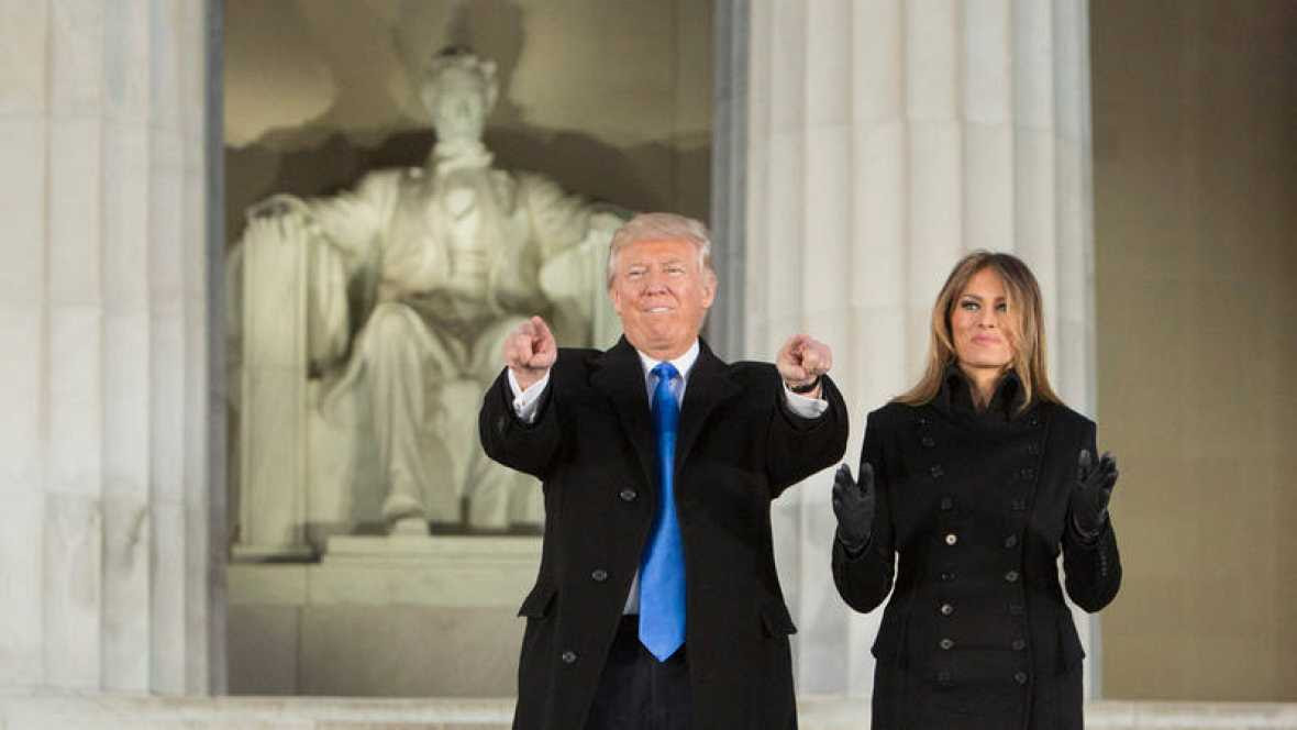 Donald Trump promete que trabajará para volver a unificar a Estados Unidos