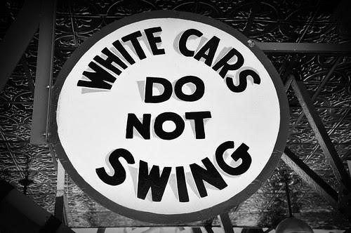 WhiteCarsDoNotSwing