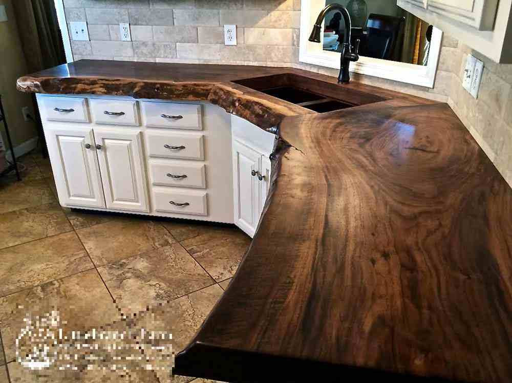 20 Ideas for Installing a Wooden Countertop at Your Home ...