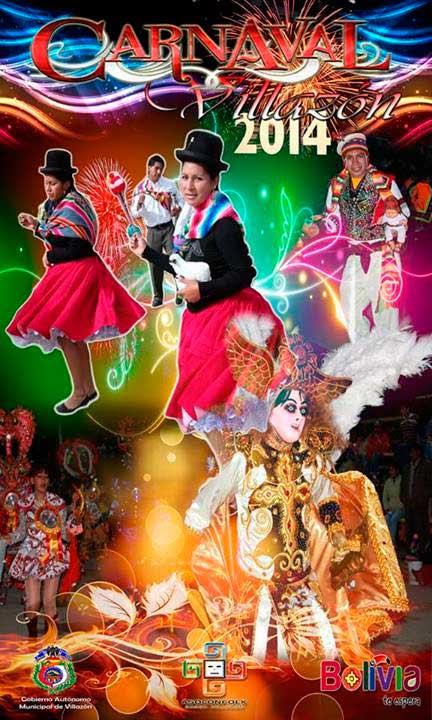Afiche Oficial Carnaval de Villazón 2014