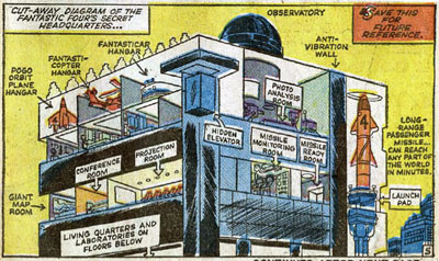 Fantastic Four #3 panel