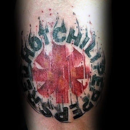 70 Red Hot Chili Peppers Tattoo Ideas For Men Music Band Designs