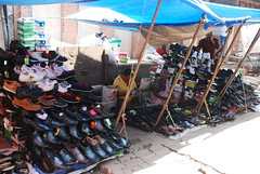 Chor Bazar old Shoes Made New ...What was stolen at the Temple buy it here by firoze shakir photographerno1