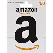 Amazon Gift Card, $50