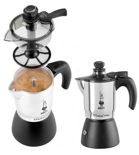 bialetti espressokocher bialetti mokacr m mit patentierter technik espressokocher f r 3. Black Bedroom Furniture Sets. Home Design Ideas