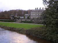 White Cart River and Pollok House