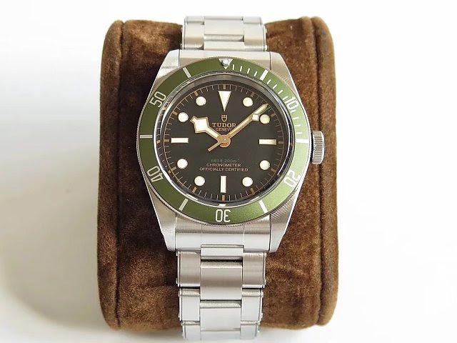 Replica Tudor Black Bay Green Watch