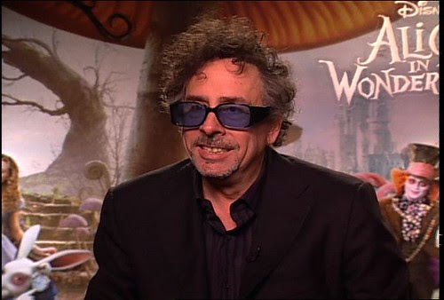 Tim Burton At Alice In Wonderland Fan Event