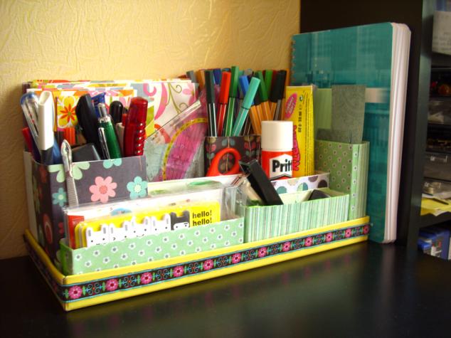 15 Creative And Useful DIY Desk Organizers