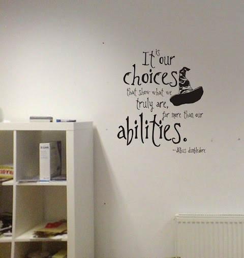 20+ Harry Potter Decals For Walls