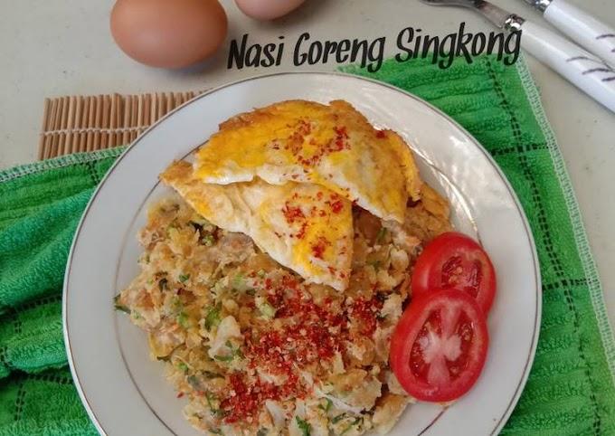 Resep Nasi Goreng Singkong Yang Enak