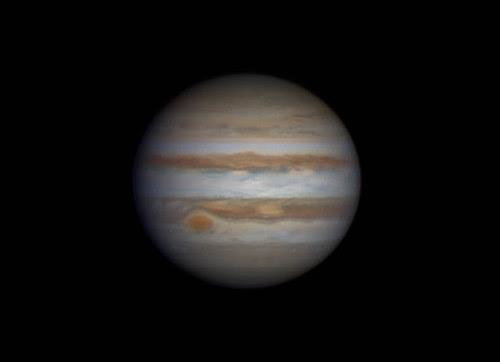 Jupiter (RG)RGB - 040314 - 18:50UTC by Mick Hyde