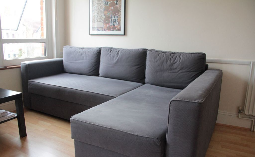 Ikea Manstad Corner Sofabed With Chaise