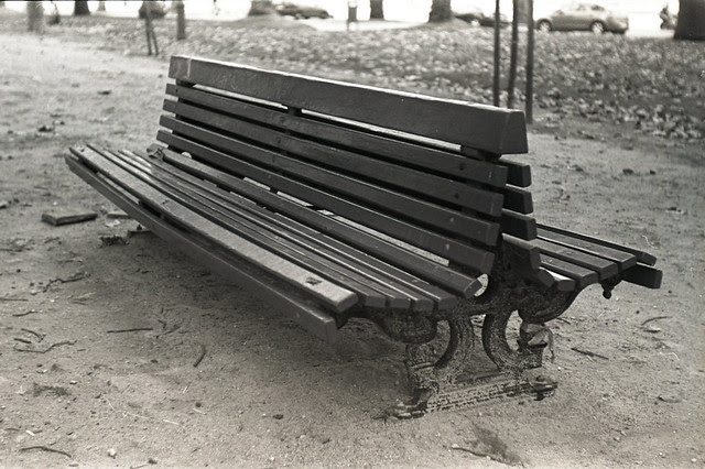 Just a park bench